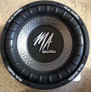 New-Old-School-MA-Audio-MA100XE-Dual-4-ohm-10-034-Subwoofer-RARE-NOS-NIB