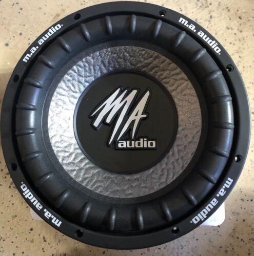 """New Old School MA Audio MA100XE Dual 4 ohm 10/"""" Subwoofer,RARE,NOS,NIB"""