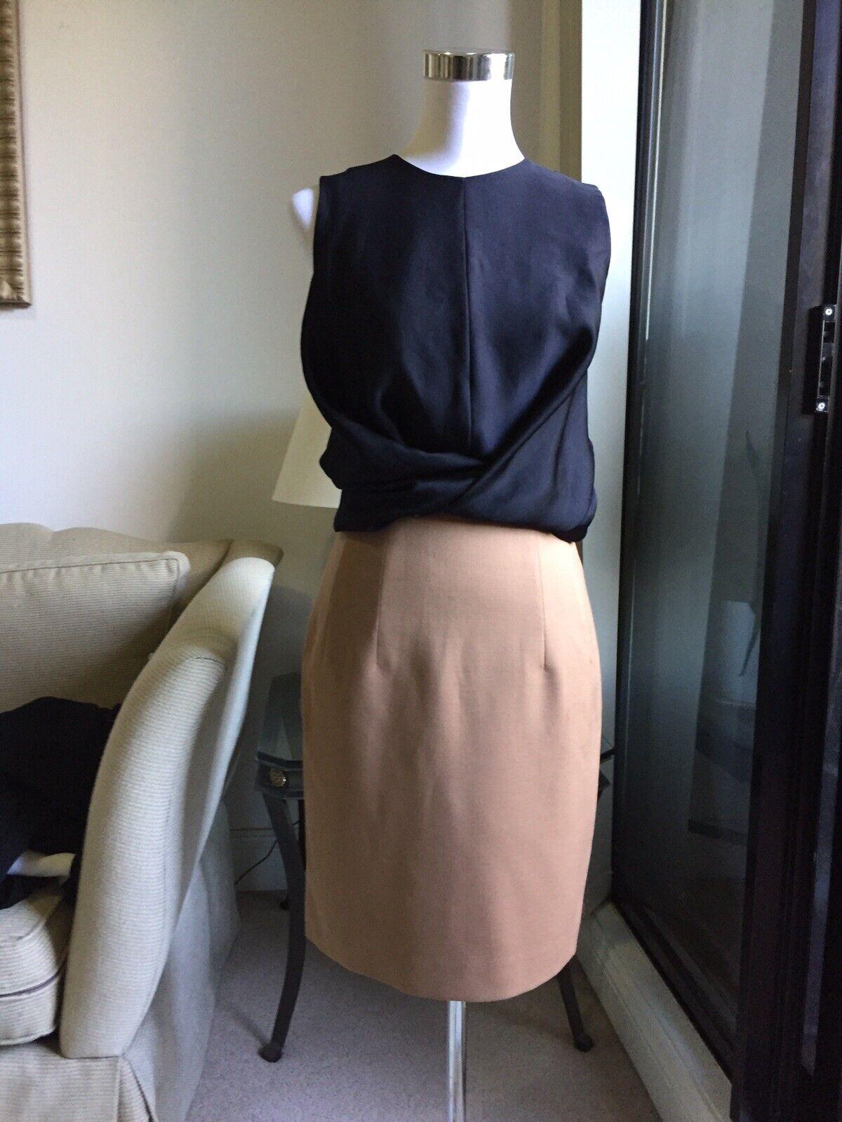 Carven Bi Colour Twist Front Dress FR36