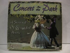 Concert-In-The-Park-Festival-Of-Beautiful-Music-Import-2-CD-039-s-Madacy-1996-cd657