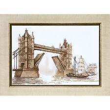 Kit Punto De Cruz Puente Torre de Londres.