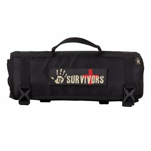 Sightmark TS42000B 12 Survivors First Aid Rollup Kit