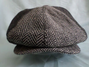 GENTS-TRENDY-8-PIECE-RETRO-NEWSBOY-8-PANEL-HAT-1920S-1930S-BAKER-BOY-CAP