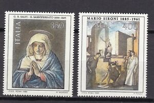 ITALIA-REPUBBLICA-1985-XI-EMISSIONE-ARTE-ITALIANA