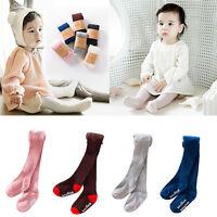 Baby Toddler Infant Girls Kids Cotton Warm Pantyhose Socks Stockings Tights 0-5Y