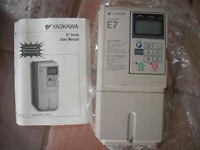 Vfd Ac Drive Yaskawa Varispeed E7 Drive With Manual Model Cimr E7u20p4