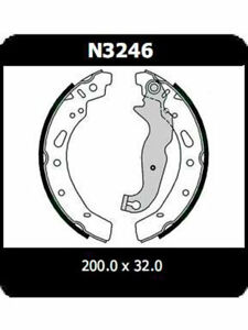 Protex-Brake-Shoes-FOR-MAZDA-2-DL-N3246