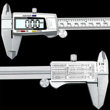 Stainless Steel 6digital Vernier Caliper Electronic Ruler Industrial Measuring