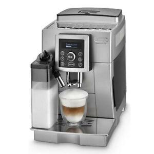 Delonghi-ECAM-23-466-S-Kaffeevollautomat-silber-Kaffeemaschine-Cappuccino