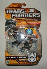 Hasbro Transformers Hunt for the Decepticons - Deluxe Class - SEA ATTACK RAVAGE