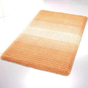 kleine wolke badteppich badematte alicante 80x140 60x100 pfirsich 322 ebay. Black Bedroom Furniture Sets. Home Design Ideas