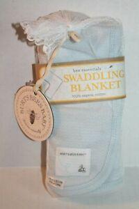 Blue Infant  100/% Organic Cotton  Swaddling Bag