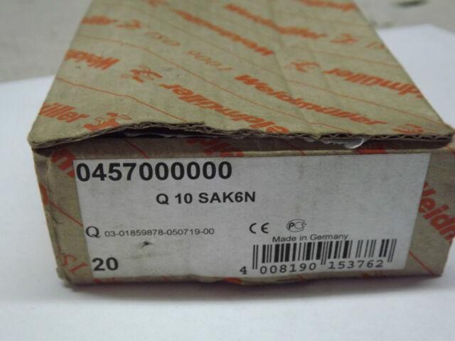 036860 Q10 Weidmuller Jumper Micro Terminal