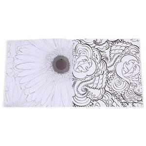 Image Is Loading Adults Children Flowers Monogatari Series Coloring Book Designs