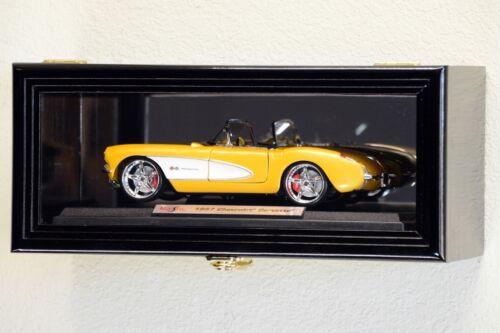 Single 1//18 Scale Diecast Model Car Display Case Cabinet Holder Die Cast Display