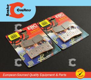 FOR 2001 - 2002 SUZUKI GSX-R 1000 K - FRONT EBC HH SINTERED BRAKE PADS 2 SETS