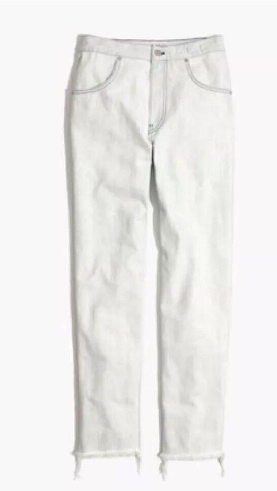 New Madewell Tapered Jeans Cadiz Wash Sz 31 H5843