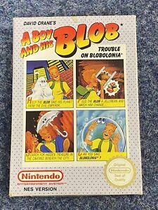 Un Boy y su Blob para el Nintendo NES PAL una versión
