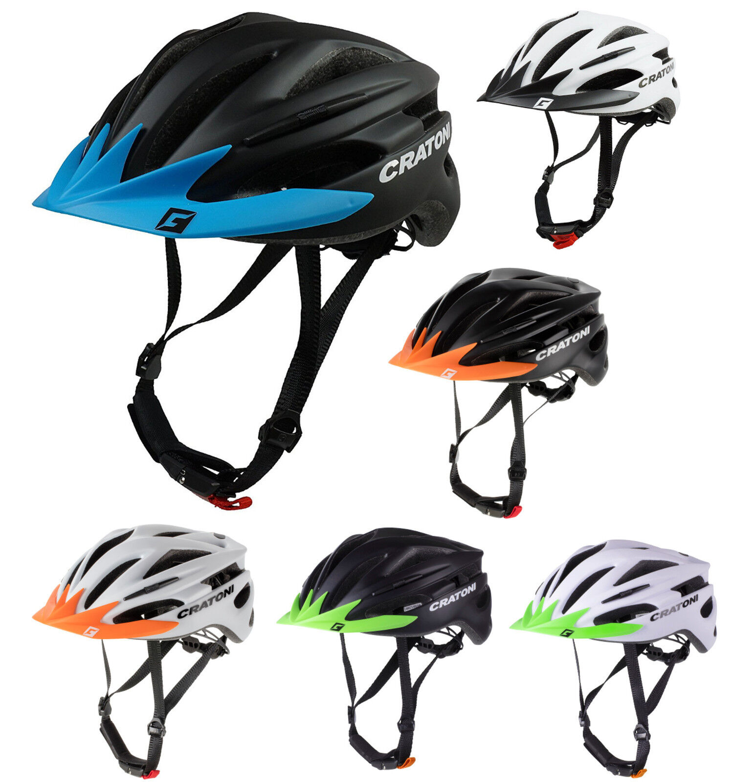 Cratoni Pacer Special Model Touring Helmet Bicycle All-Round Bike Inliner