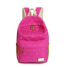 18fe0695424 item 1 Womens Girl Canvas School Backpack Shoulder Bag Travel Work Rucksack  Satchel New -Womens Girl Canvas School Backpack Shoulder Bag Travel Work ...