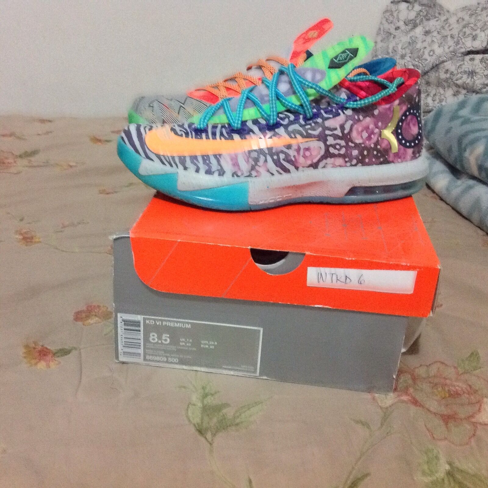 Nike KD 6 What The KD Air Jordan 1, 2, 3, 4, 5, 6, 7, 8, 9, 10, 11