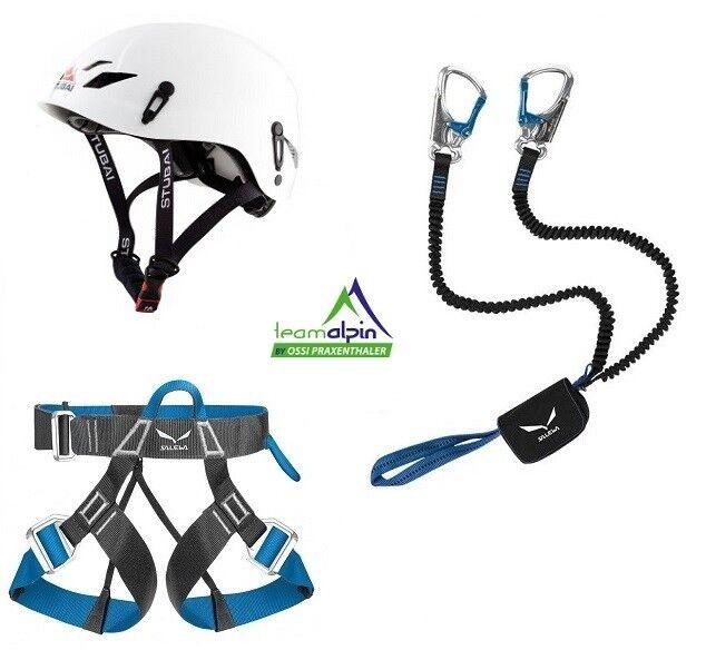 Climbing Equipment Salewa via Ferrata Premium Attac + Evo Strap + Fuse Light