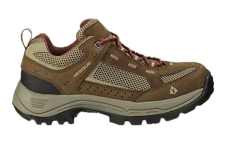 Vasque Women's Breeze 2.0 Low Gore-Tex Hiking shoes, Slate Brown Red Mahogany - 7