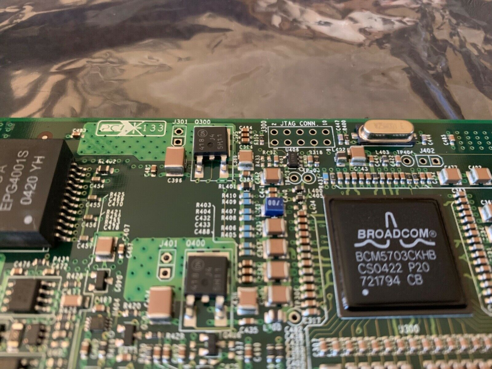 (6) new surplus HP NC7771 PCI-X High Profile Gigabit Server Adapter 268794-001