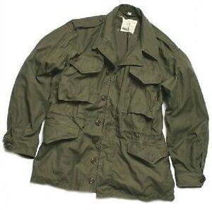 Us Army (repro) Ww Ii Military M1943 Jacket Feldjacke M43 Jacke Xl / Xlarge Ausgezeichnet Im Kisseneffekt