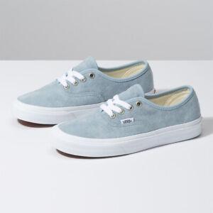 Details zu Vans Pig Suede Authentic Skate Sneakers Low Sky Blue VN0A2Z5IV4Z Size US 4 13