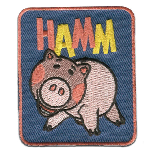 colorful – 6,0x6,8cm Application E Iron on patches Toy Story 4 Hamm Disney