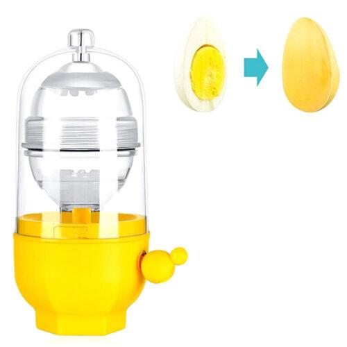 Egg Scrambler Shaker Schneebesen Hand Egg Maker Eier Eigelb Weiß Mixer KücheXUI