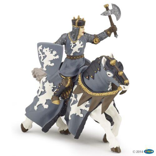 Papo Ritter mit Axt auf Pferd 39775 /& 39776