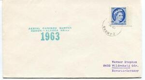1963 Cawson Aerial Caribou Survey Yukon Alaska Polar Antarctic Cover Soulager La Chaleur Et Le Soleil