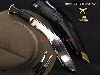 Nepal Grukha Standard Issue Service No.1 Khukuri Knives-Handmade