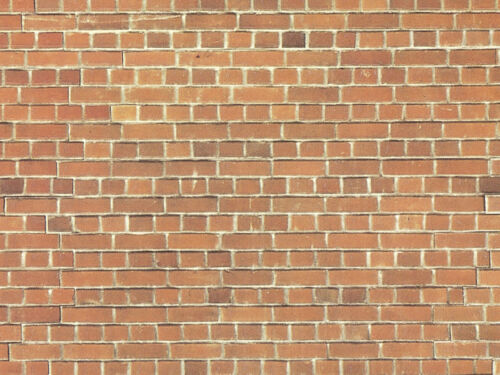 Mauerplatte Ziegelstein 64x15cm Grundpreis 1qm=36,45 Euro NOCH 57730 H0 lang
