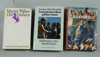 M.walser 3 Bücher Dokumentation Hannibal Biographie /s167 Roman V