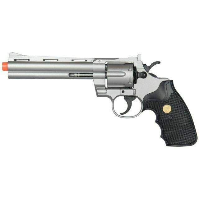 Ukarms G36s Airsoft Gun 6 Shot 357 Magnum Revolver With Shells 6mm Bbs For Sale Online Ebay