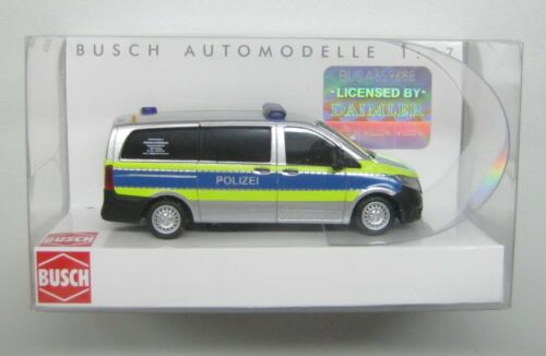 Busch MB Vito policía hamburgo accidente de tráfico servicio VUD colección
