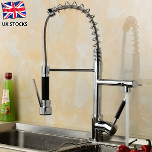 TAPCET Monobloc Chrome Brass Kitchen Sink Pull Out Spray Faucet ...