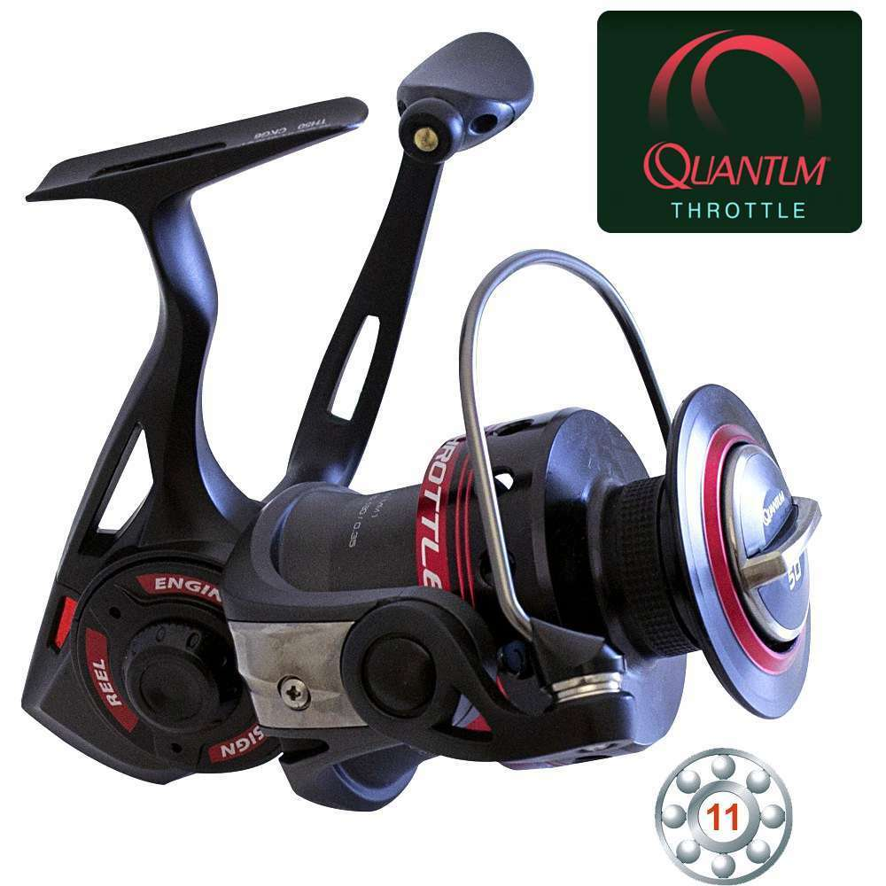 Quantum THROTTLE TH50 + 8 300m Spiderwire® Stealth Smooth 8 + 0,17mm 17kg c739ff