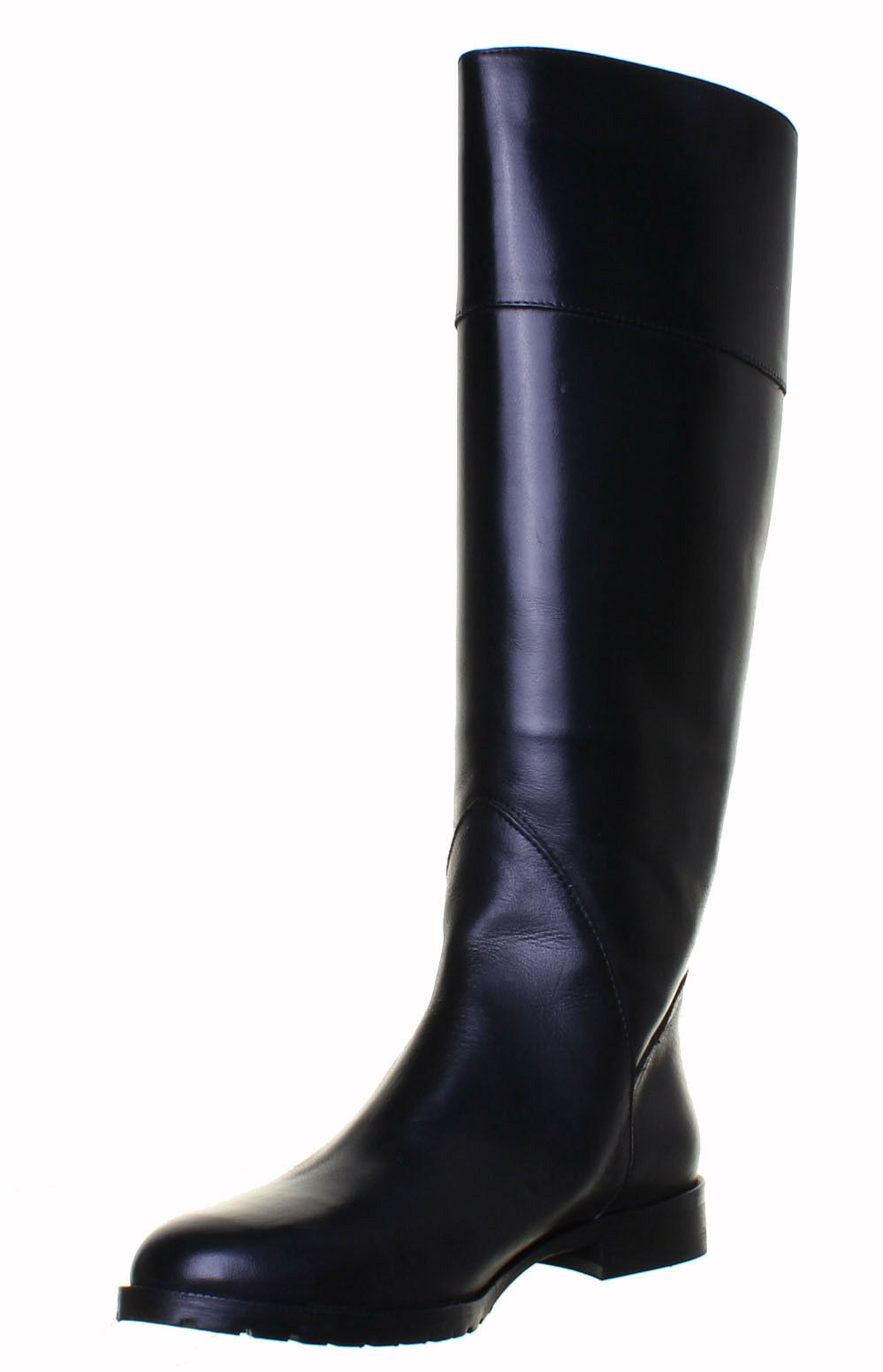 Justin Reece  Damenschuhe Made in  Reece Leder Knee High Flat Ridding Stiefel e4e2cf