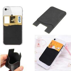 Silicone-Business-carte-de-credit-Case-Support-Pour-iPhone-5-5-S-SE-6-6-S-7-8-Plus