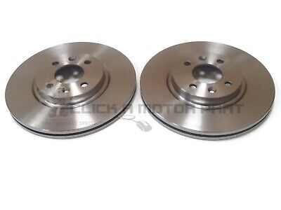 Pair RENAULT CAPTUR 0.9 2x Brake Discs Vented Front 2013 on H4B400 257mm Set