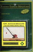 N Scale: Railway Express Miniatures 2091: Bantam Dragline Crane