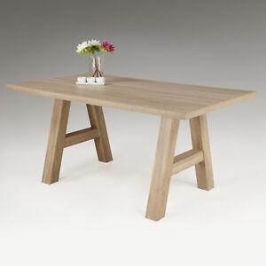 Esstisch Almat Esszimmer A Stollen Tisch In Sonoma Eiche Nachbildung