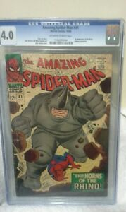 The-Amazing-Spider-Man-41-1st-Rhino-Intro-CGC-4-0-VG