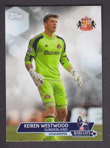 Base # 79 Keiren Westwood Sunderland Topps Premier Gold 2013