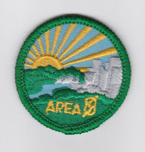 SCOUT OF CANADA CANADIAN SCOUTS ALBERTA ALTA AREA 8 DISTRICT Patch