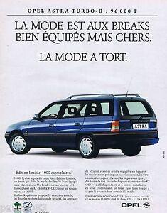 PUBLICITE-ADVERTISING-095-1993-Opel-Astra-Turbo-D-break